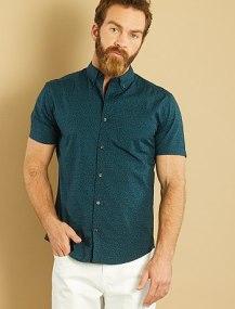 camisa-recta-de-manga-corta-de-popelina-estampada-marinevert-fleurs-hombre-vg909_9_fr1
