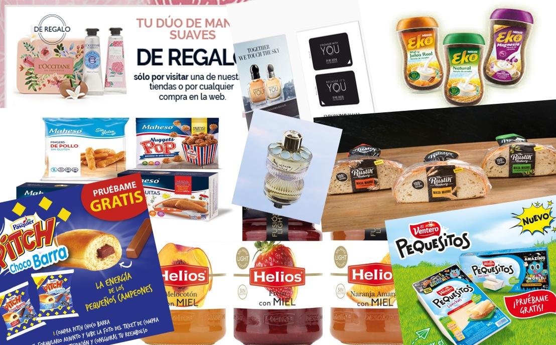¡Más productos gratis y nuevos cuponesdescuento!