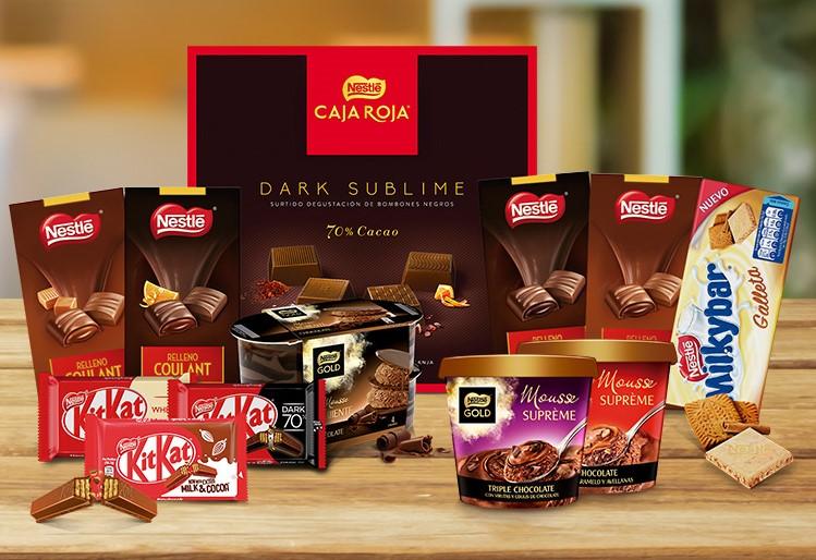 Nestlé: bombones, chocolatinas y postres. ¿Cuál es tufavorito?