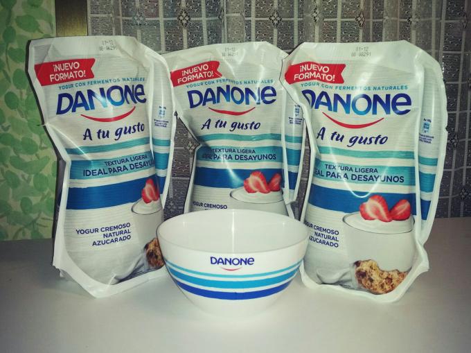 """""""Danone, A tu gusto"""": perfecto para desayunos ypostres"""