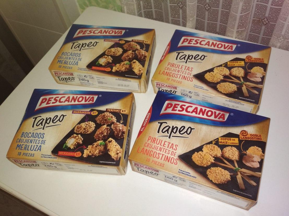 Tapeo Pescanova, el aperitivo más fácil para estasNavidades